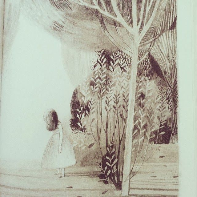 jane the fox and me, isabelle arsenault, ilustration, book,